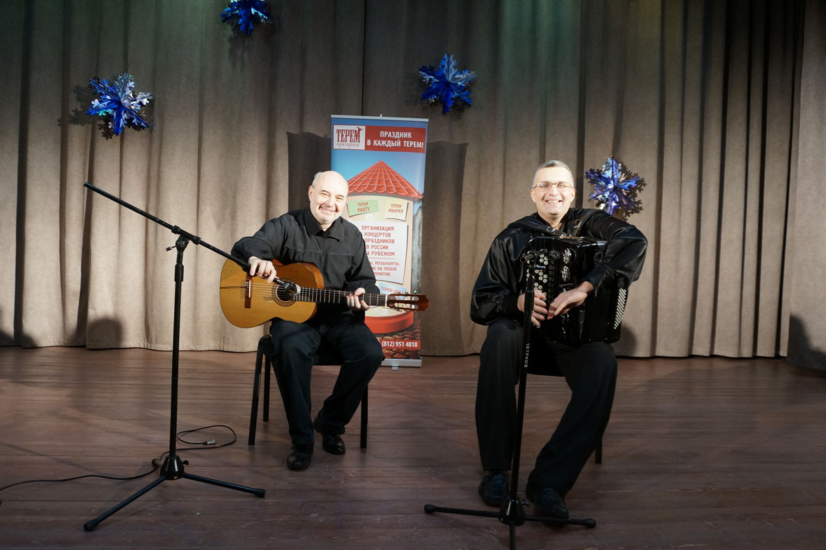 Magic Accordion. Sergei Likhachov and Vladimir Bogomolov